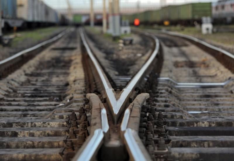ВЛипецке товарный поезд врезался в грузовой автомобиль