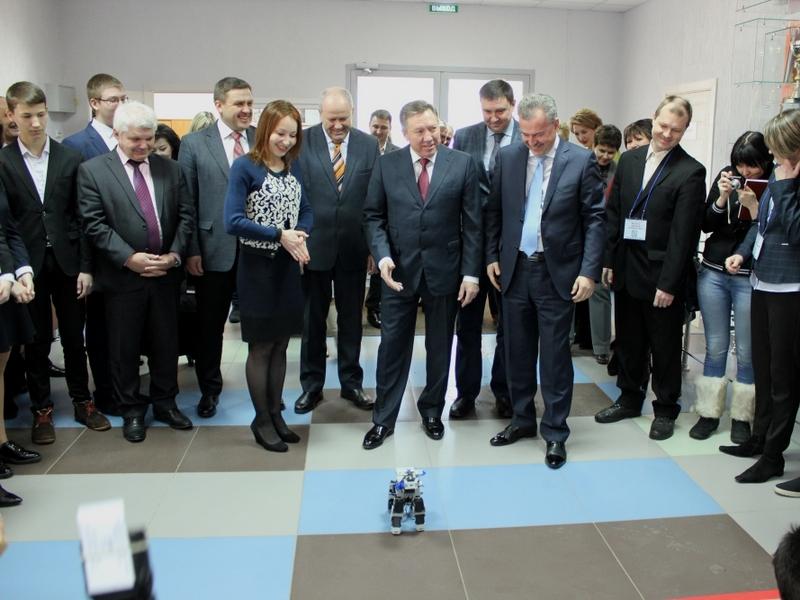 ВЛипецке открыли детский технопарк «Кванториум»