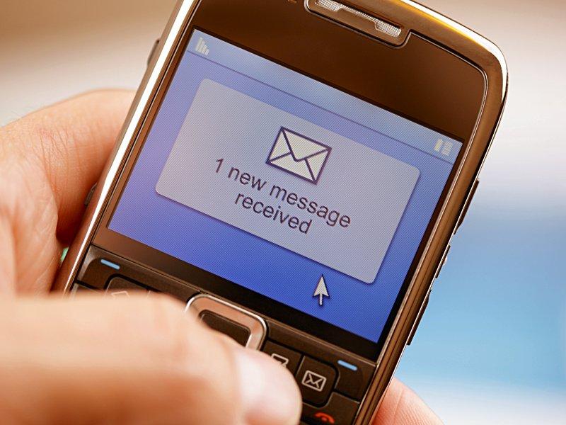 Смс сообщения на телефон