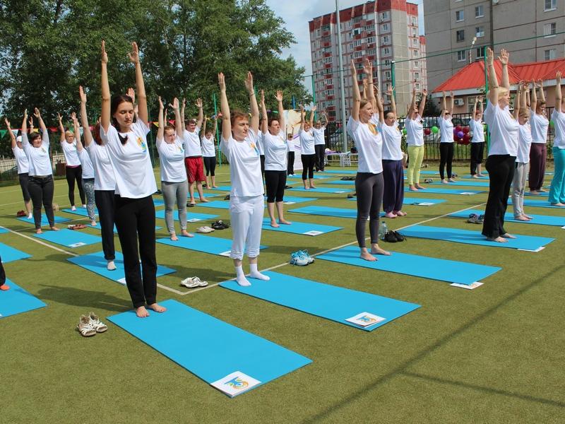 День йоги липчане отметят впарке Победы
