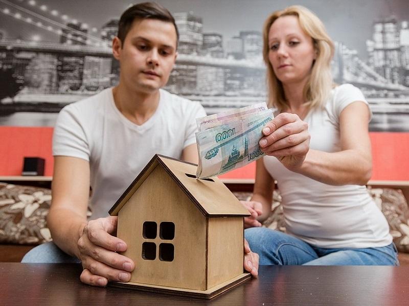 без жилищных и материальных проблем